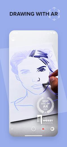 SketchAR Create Art and get NFT instantly screenshot 1