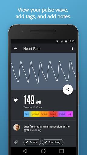 رصد معدل ضربات القلب الفورية 3 تصوير الشاشة