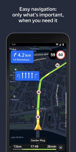 Yandex.Navigator screenshot 2