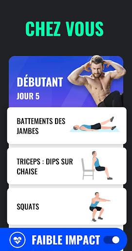 Perte de Poids pour Homme - Exercices à la Maison screenshot 3