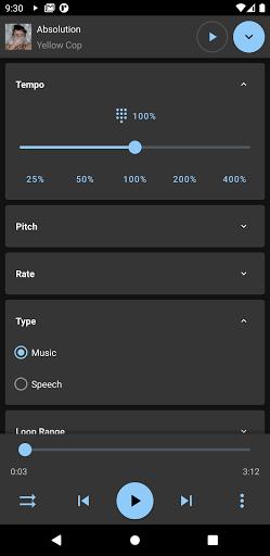 Music Speed Changer screenshot 2
