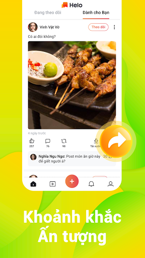 Helo - Meme, Video Hài Hước và Nội Dung Thịnh Hành screenshot 3