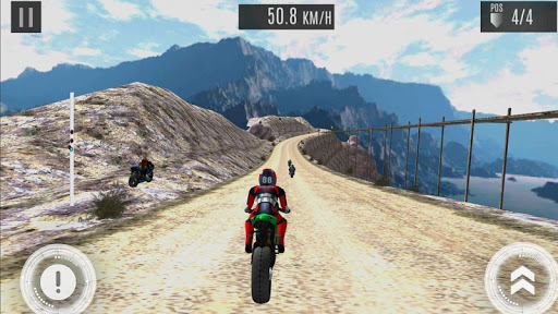 Hill Top Bike Racing screenshot 2