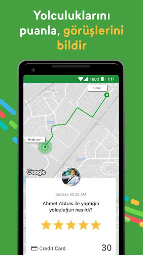 Careem Taksi Çağırma Uygulaması screenshot 7