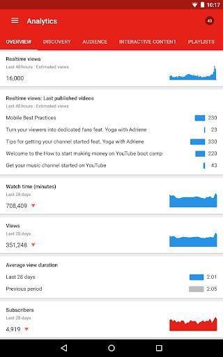 YouTube Studio screenshot 16