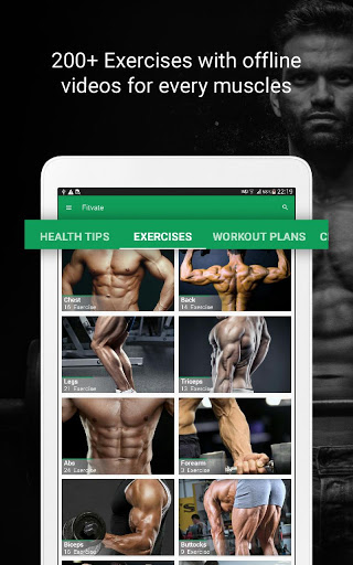 Fitvate - Home & Gym Workout Trainer Fitness Plans screenshot 17