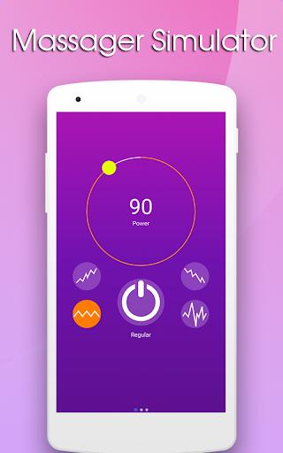 Vibrationsanwendung - Vibrator stark screenshot 1