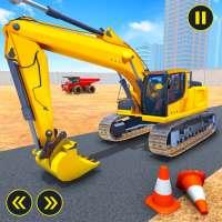 Grand Road Construction Excavator Simulator on 9Apps