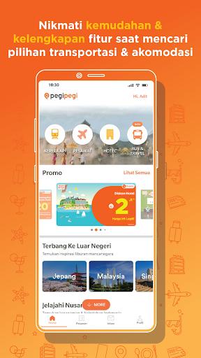 Pegipegi - Beli Tiket Pesawat, Hotel, Kereta & Bus screenshot 1
