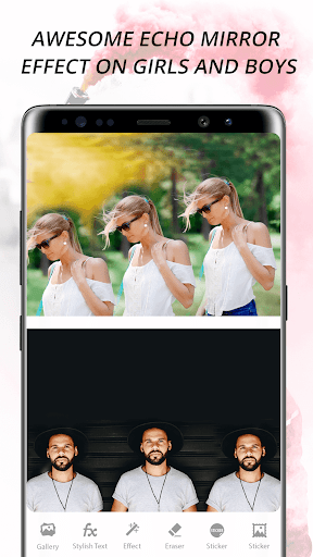 Echo Mirror Magic : Echo Effect Photo Editor screenshot 3