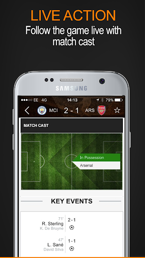 Soccerway screenshot 2