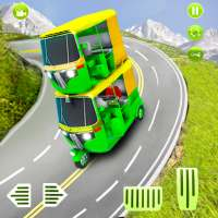 Auto Rickshaw Games 2021 :Army Taxi Game 2021 on 9Apps