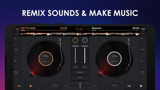 إيدجنغ ميكس: خلاط موسيقي دي جي 2 تصوير الشاشة