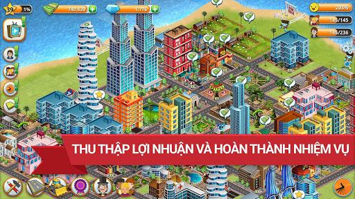 Trò chơi Thành phố Làng Đảo Village Simulation screenshot 4