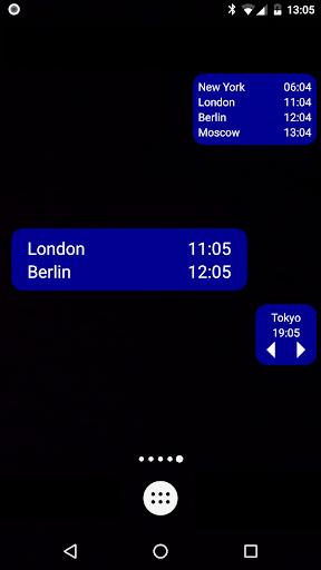 Dünya Saati & Widget'i screenshot 2