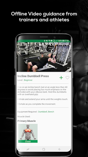 Fitvate - Home & Gym Workout Trainer Fitness Plans screenshot 5