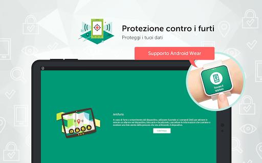 Kaspersky Mobile Antivirus: AppLock Sicurezza Web screenshot 16