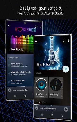 음악 플레이어 2021 screenshot 7