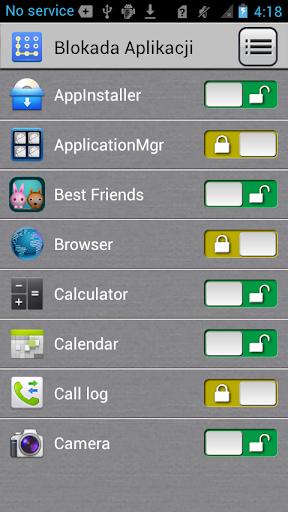 Blokada Aplikacji screenshot 3