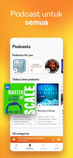 Deezer - Muzik, Senarai Main & Podcast screenshot 6