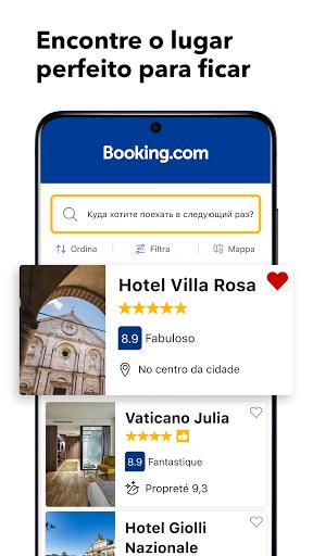 Booking - Reserva de Hotéis screenshot 1