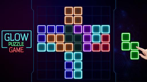 Glow Block Puzzle screenshot 8