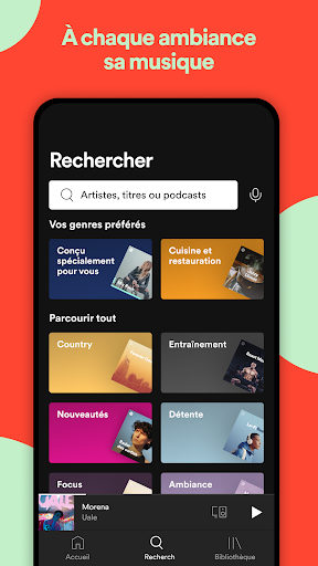 Spotify: musique et podcasts screenshot 7