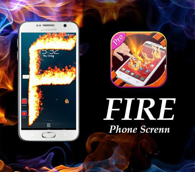 new Fire Screen Prank  2016 screenshot 2