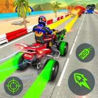 ATV Quad Bike Shooting and Racing Simulator on 9Apps
