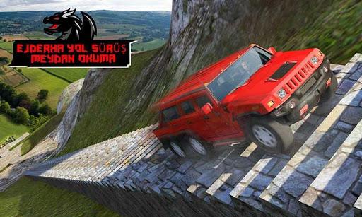 Ejderha Yol Sürme Simülatör: hız araba kaza Ölçek screenshot 2