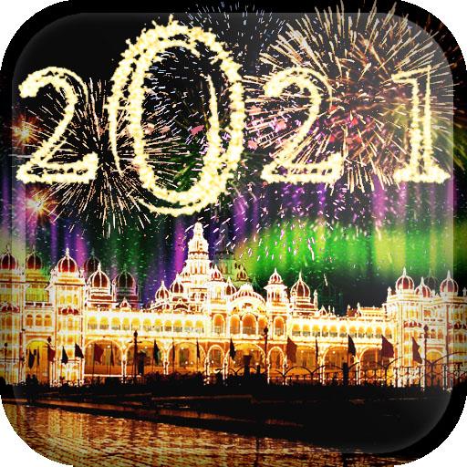 New year Live Wallpaper 2021 иконка