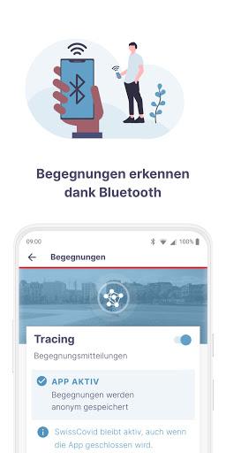 SwissCovid screenshot 3