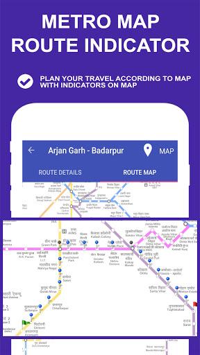 Delhi Metro Route Map and Fare скриншот 4