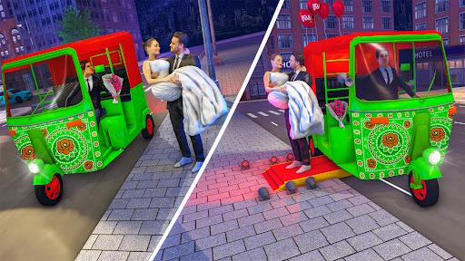 Tuk Tuk Auto Rickshaw Driving Simulator Games screenshot 6