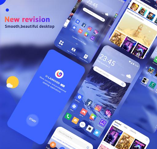 U Launcher Lite-New 3D Launcher 2020, Hide apps screenshot 1