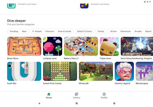 Google Play Spiele screenshot 10