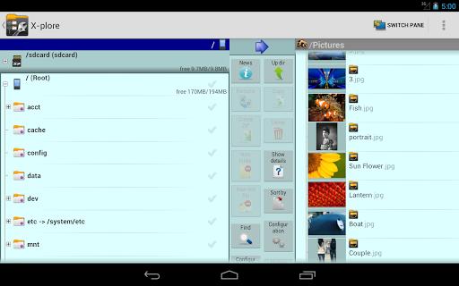 X-plore File Manager скриншот 9
