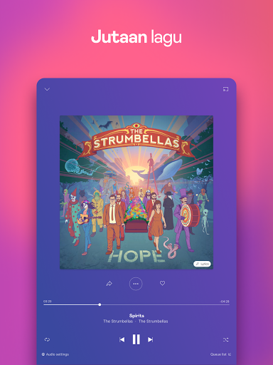 Deezer - Musik, Daftar Putar & Podcast screenshot 9