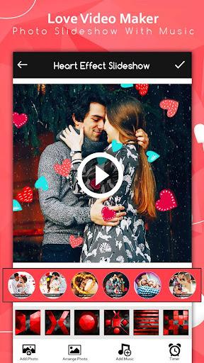 Love Video Maker : Photo Slideshow With Music screenshot 5