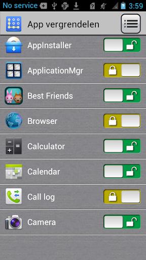App-vergrendelaar screenshot 3