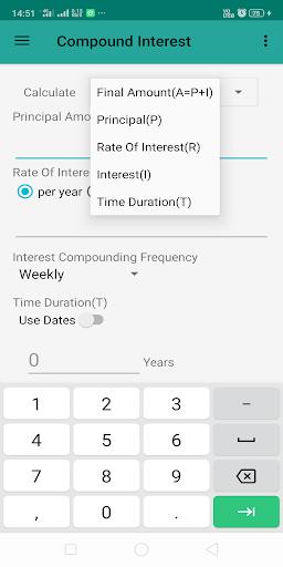 Interest Calculator screenshot 2