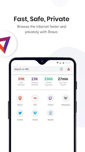 Brave Browser: szybka, bezpieczna, prywatna screenshot 1