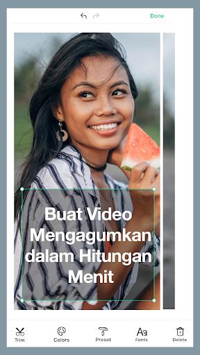 Magisto Editor Video dan Pembuat Presentasi screenshot 1