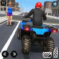 ATV Quad City Bike Simulator 2020: Trò chơi taxi on 9Apps