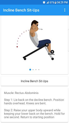Fitness & Bodybuilding screenshot 2