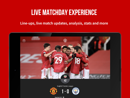 Manchester United Official App स्क्रीनशॉट 10