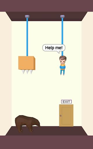 Rescue Cut - Rope Puzzle screenshot 4