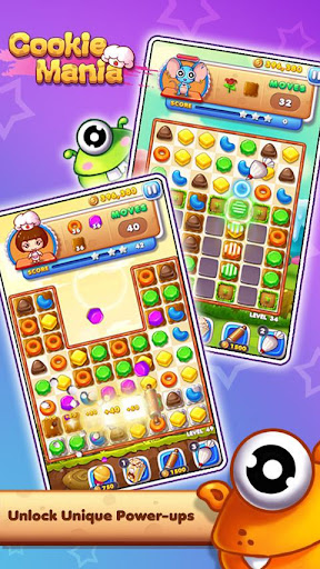 Cookie Mania - Match-3 Sweet Game screenshot 3
