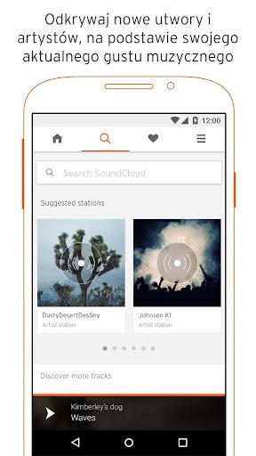 SoundCloud: muzyka & audio screenshot 1