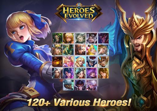 Heroes Evolved 11 تصوير الشاشة